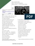Atividade-de interpretação de texto com música- 1º-ano Linguagens Artísticas