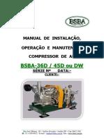 Manual - BSBA 36D ou 36DW