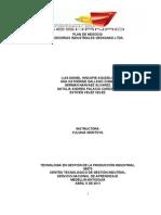 Plan de Negocio asesorias industriales geskanad ltda