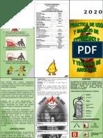 Practicas de Uso y Manejo de Extintores e Hidrantes y Tecnicas de Arrastre AXA COLPATRIA