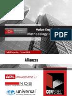1-Value Engineering Methodology in Construction by Mr. Fadi Elayache