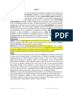 MODELO DE ACLARATORIA DE CONTRATO DE COMPRAVENTA