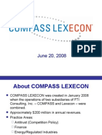 About COMPASS LEXECON -- June 2008 (MW)