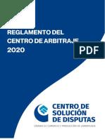 REGLAMENTO _  CENTRO DE ARBITRAJE _ CCLAM _ JULIO 2020 (1)