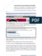 Manual de Descargas Scribd