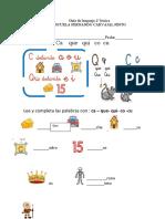 Guía de lenguaje 2º básico