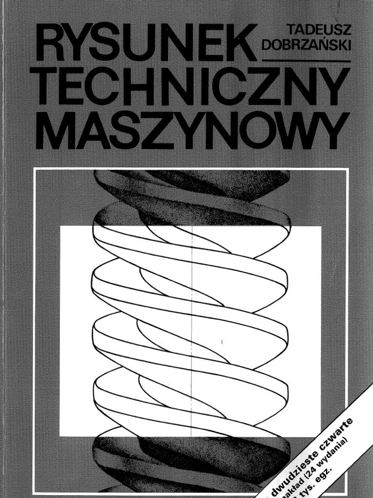 dobrzański rysunek techniczny pdf chomikuj