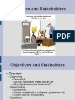 Higher Business management - 4 - Objectives and Stakeholders