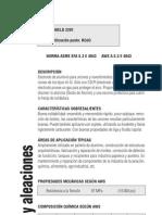 aluminio_aleaciones ELECTRODOS INFRA