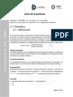 Unidad 2. Dinámica de La Partícula