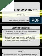 Waiting Line Management