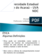 Aulas -NDC-ÉTICA