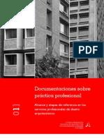 01] Alcance y etapas de referencia en los servicios profesionales de diseño arquitectónico (2004)