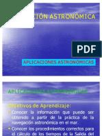 APLICACIONES ASTRONOMICAS