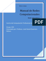 Manual de Redes Computacionales