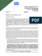Concepto Jurídico 202111600110371 de 2021