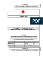 Analysis guidelines for COBOL II  CONVERSION