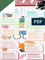Rojo Cuadrícula Minimalista Monótono Proyecto Progreso Programa Infografía