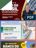 Concurso BB Imersão em Questões - Conhecimentos Bancários com Cid Roberto