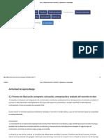 Curso_ TECNOLOGIA DEL CONCRETO, Tópico_Tema_ A. Aprendizaje