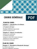 Cours_Chimie Générale