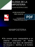 PATOLOGIA DE LA MAMPOSTERIA