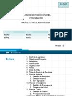 Plan de Dirección Proyecto Caso Yacuiba v1