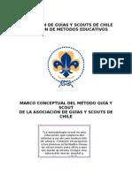 Marco Conceptual del Método Guía y Scout AGSCh