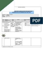 Planificación 1 Jueves 18 de Marzo - 4to Medio