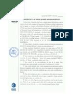 Acta de denuncia de Don Juan José Afonso González