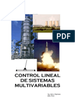 Control Lineal de Sistemas Multivariables