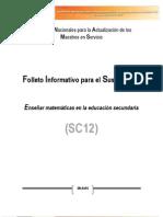 Cuadernillo Descriptivo Del Curso