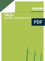 FAQs on wind energy - suzlon
