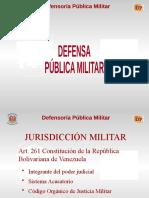 Exposición de Delitos y Faltas Militares.