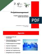 Skriptum Projektmanagement Verwaltungslehrgang 2011