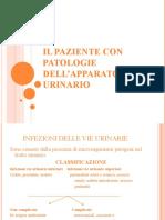 Il paziente con patologie dell'app. urinario