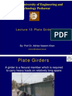 Lecture -13 Plate Girders
