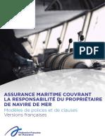 Assurance Maritime Couvrant Responsabilite Proprietaire Navire Mer