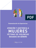 Sistematización experiencia de atención a mujeres victimas de violencias CASA MATRAI Cali