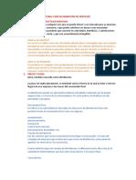 TEMA 2 MIX DE MARKETING DE SERVICIOS- INVESTIGACION 1