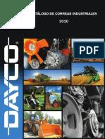 Catálogo Correas Industriales Dayco