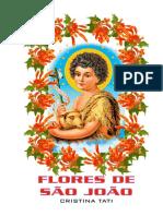HINÁRIO FLORES DE SÃO JOÃO - COLETÂNEA - Cris Tati - Songbook