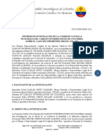 Comisión Católica No-Romana - Caso P. Miguel Solano