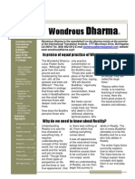 Wondrous Dharma Issue 12 March 2011