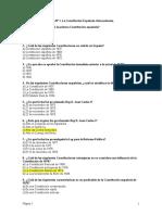 Test Oposicion - Constitucion Española - Oposiciones Buenisimotest de La Constitucion Y Auxiliar Administrativo