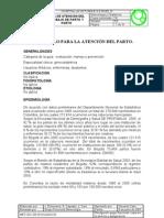 GUIA ATENCION DE PARTO
