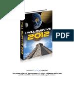 I Will Survive 2012 Book 1
