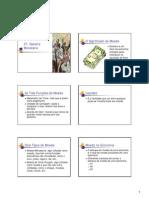 Economia II - Sistema Monetário - Slides