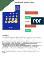 TÉLÉCHARGER LIRE DOWNLOAD READ. Description. Pratique industrielle de la méthode Taguchi Télécharger, Lire PDF ENGLISH VERSION