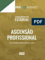 Legislação Militar Estadual - ASCENSÃO PROFISSIONAL